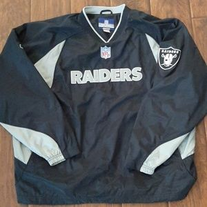 Raiders windbreaker